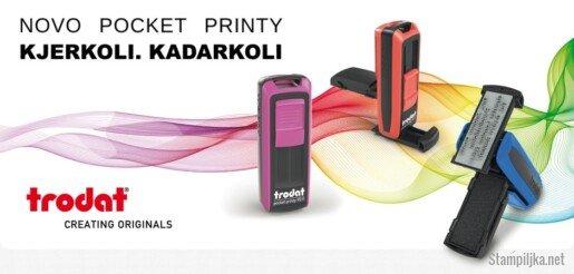 Prenosna štampiljka Pocket Printy
